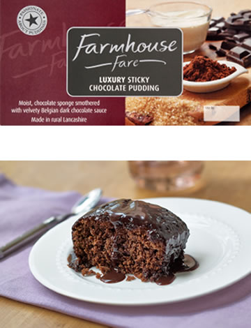 Luxury Sticky Chocolate Pudding 500g