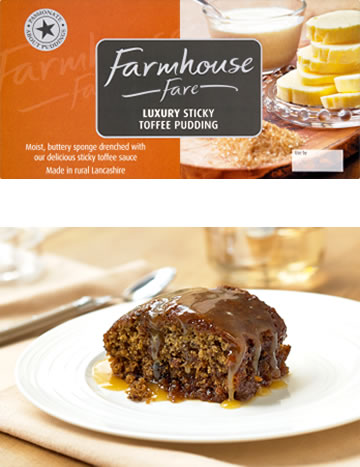 Luxury Sticky Toffee Pudding 500g