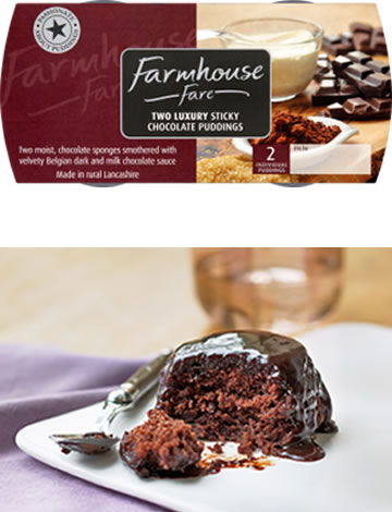 Luxury Sticky Chocolate Pudding Twin Pack 2x100g